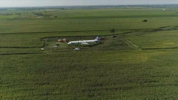 Rusia: Un Airbus A312 aterrizó de emergencia sin dejar ninguna víctima mortal
