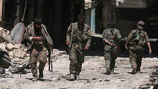 جنود في الجيش السوري