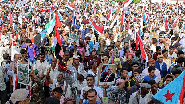 مظاهرات حاشدة في اليمن