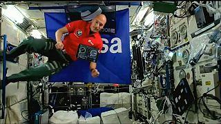 Así fue la primera fiesta en la que el Dj pinchó desde el espacio