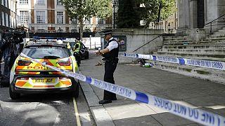 حمله با چاقو مقابل ساختمان وزارت کشور بریتانیا در لندن