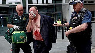 Homem esfaqueado em frente do Ministério do Interior em Londres