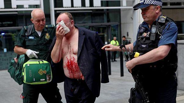 Нападение с ножом у здания МВД Великобритании