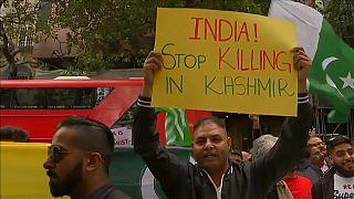 شاهد: مظاهرات في لندن للتنديد بسياسة الهند في كشمير