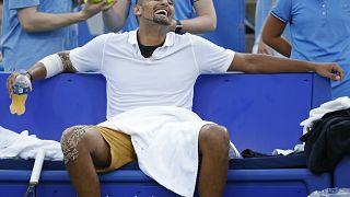 Tennis-Frust: Strafe für Kyrgios