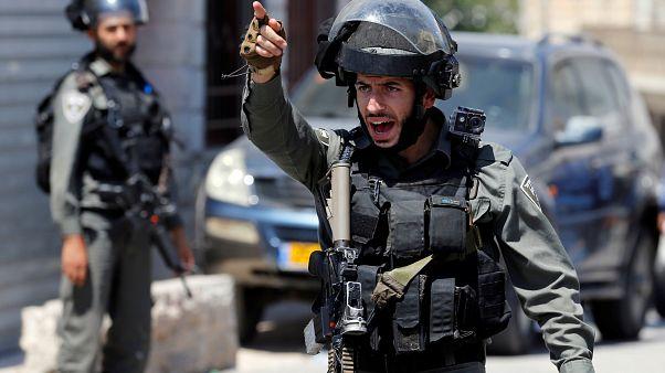 Kudüs'te İsrail polisinden bıçaklı saldırıya müdahale: 1 ölü, 1 yaralı