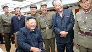 Kim Jong Un provoziert mit Raketenabschuss