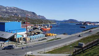 The Greenland capital Nuuk