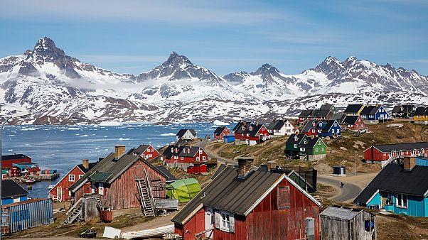 A grönlandi Tasiilaq kikötője