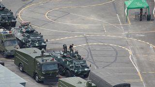 La advertencia más firme de China a Hong Kong