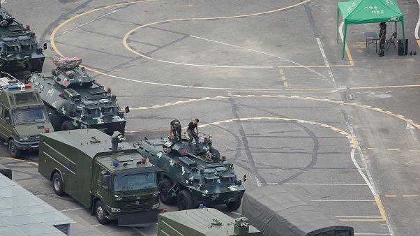 Παγκόσμια ανησυχία για την συγκέντρωση κινεζικών δυνάμεων στα σύνορα