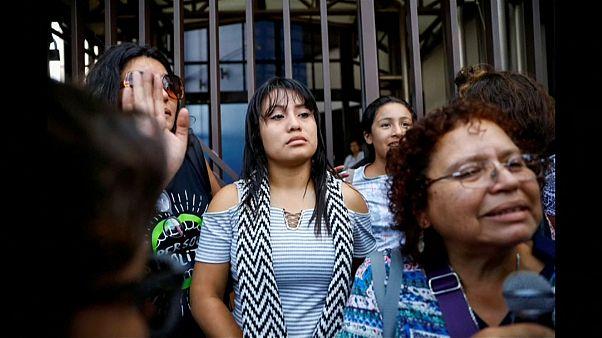Evelyn Hernandez risque jusqu'à 50 ans de prison.
