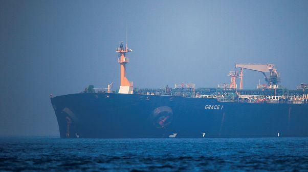 İran'a ait Grace 1 petrol tankeri / Cebelitarık açıkları