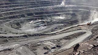 La miniera di Bayan Obo, Mongolia interna, Cina