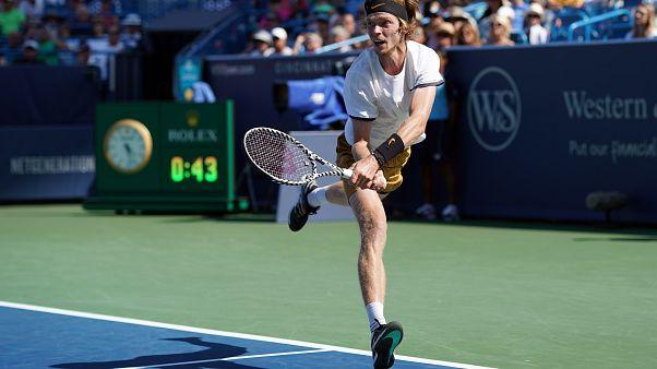 Andrey Rublev, giustiziere di Federer.