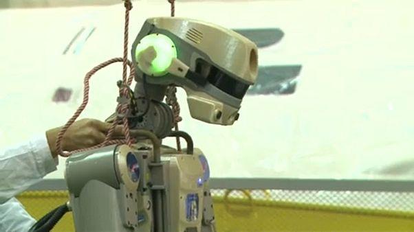 El primer robot humanoide ruso va a la Estación Espacial Internacional