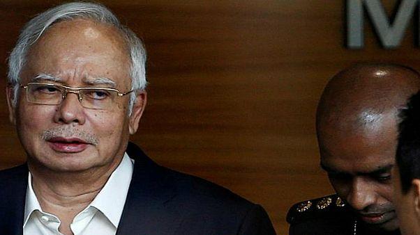 رئيس وزراء ماليزيا السابق نجيب عبد الرزاق