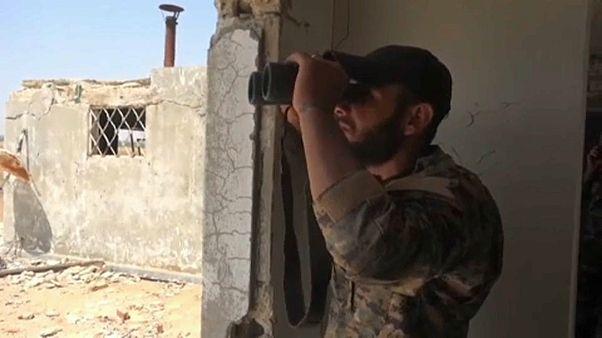 Сирийская армия наступает на Хан-Шейхун