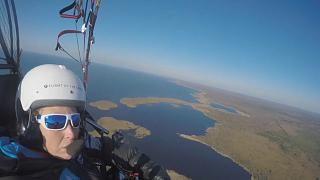 Watch: Woman set for epic journey flying migration route of endangered osprey