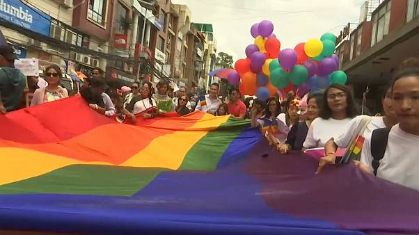 Nepal pride rally calls for better LGBT rights