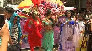 Εκατοντάδες στο Gay Pride στο «ορεινό βασίλειο» του Νεπάλ