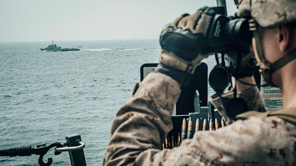ناوگان دریایی آمریکا در خلیج فارس