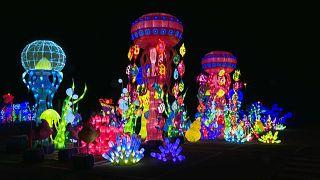 Фестиваль фонарей в Болонье