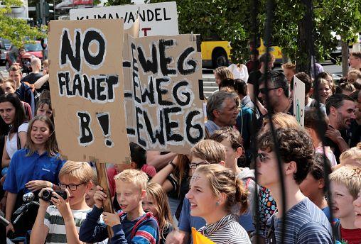 Vuelven los Viernes por Futuro a Alemania