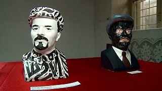 شاهد: معرض يحيي ذكرى الزعيم السوفييتي لينين بطريقة مبتكرة