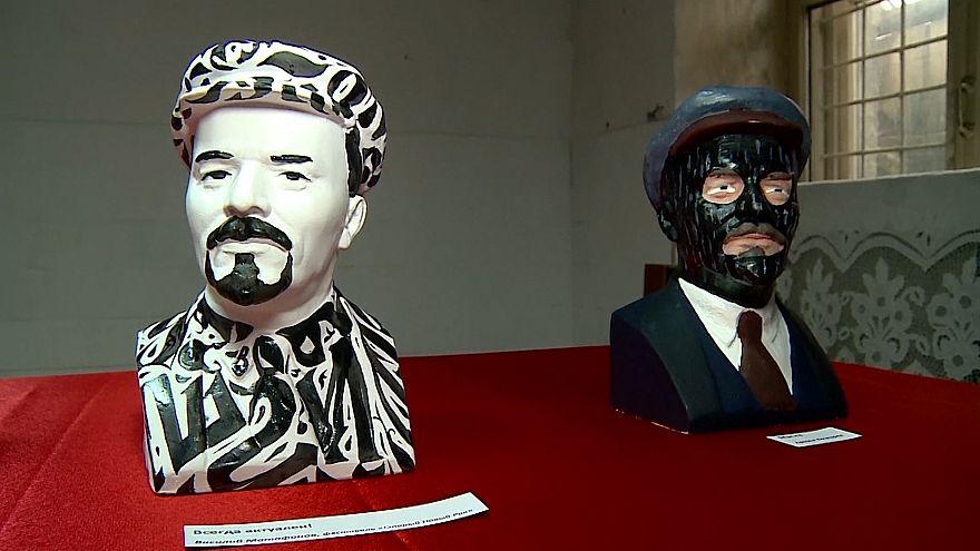 Lenin-kiállítás Jekatyerinburgban