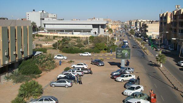 مدينة سبها في ليبيا