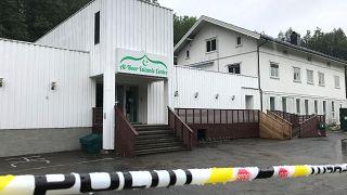 مسجد مركز النور الإسلامي في ساندفيكا بالنرويج