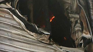 وفاة 9 أشخاص في حريق بفندق في أوكرانيا