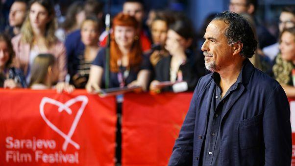 Le réalisateur mexicain Alejandro Gonzalez Iñarritu au Festival de Sarajevo, le 16 août 2019.