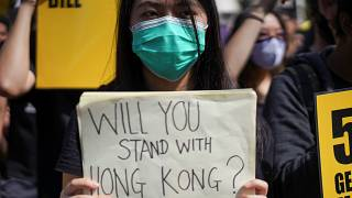Hong Kong'da protestolar 11. haftasında: Hem hükümet karşıtları hem de taraftarları eylem yaptı