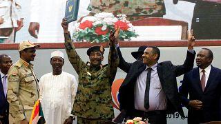 Una firma per la pace nel Sudan? Speriamo di si.