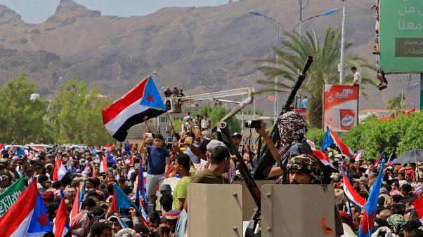 مسيرة للانفصاليين في اليمن