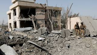 صورة أرشيفية لانفجار سابق في العاصمة الأفغانية