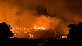 Bangladesh : incendie dans un bidonville de Dacca