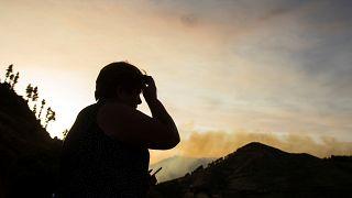 Ismét erdőtűz pusztít Gran Canaria szigetén