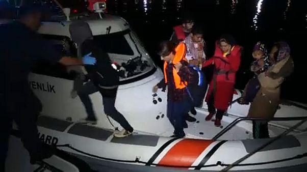 Η Τουρκία συνέλαβε 330 μετανάστες που επιχειρούσαν να φτάσουν στη Λέσβο