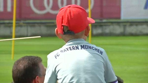 Trainingszuschauer beim FC Bayern München - noch ohne Coutinho