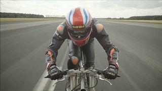 Neil Campbell stabilisce il nuovo record mondiale di velocità