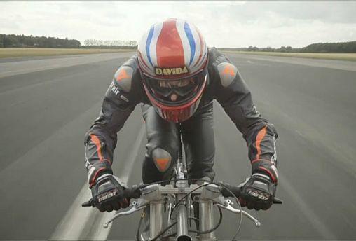 Самый быстрый велосипедист