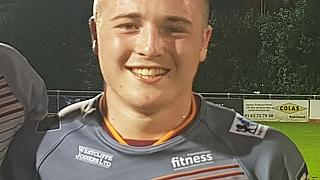 Batley Bulldogs RLFC posted a picture and tribute to Archie on Twitter