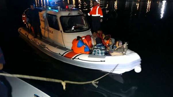 Турция: операция по перехвату мигрантов