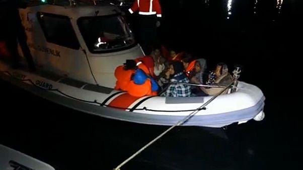 Egyre több bevándorló próbál az Égei-tengeren át Görögországba jutni
