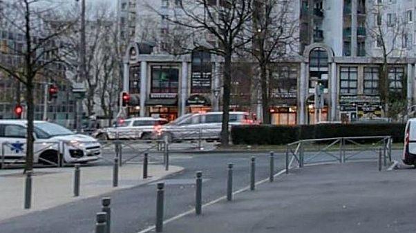 صورة لشارع بالقرب من موقع الجريمة