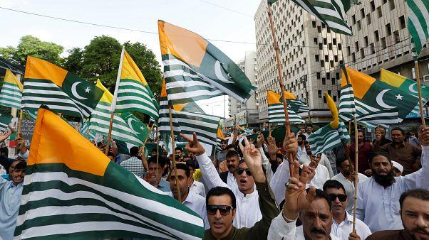 Proteste a Karachi, Pakistan
