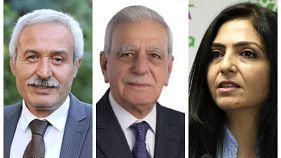 Diyarbakır, Van ve Mardin'de HDP'li büyükşehir belediye başkanları görevden alındı